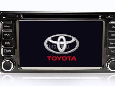 Multimedija za Toyota 4Runner, Corolla, Corolla Verso ...